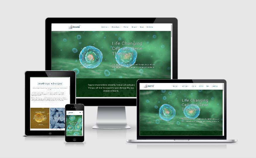 Locate Bio - responsive design